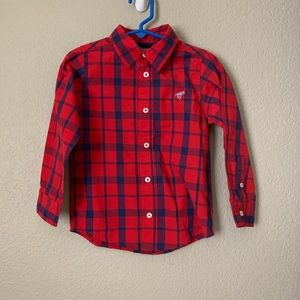 Wrangler Jeans Red Blue Shirts Toddler 4t